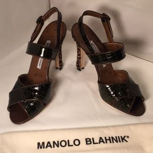 Manolo Blahnik designer sandals